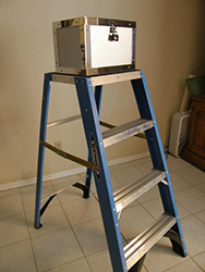 Fiberglass 3-step Ladder for Master Prediction System (Ladder Only)